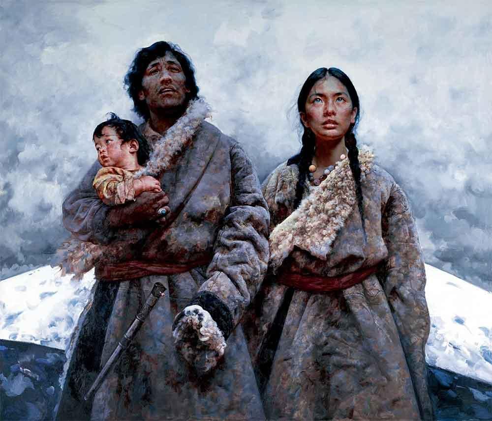 Sacred Mountain by Ai Xuan