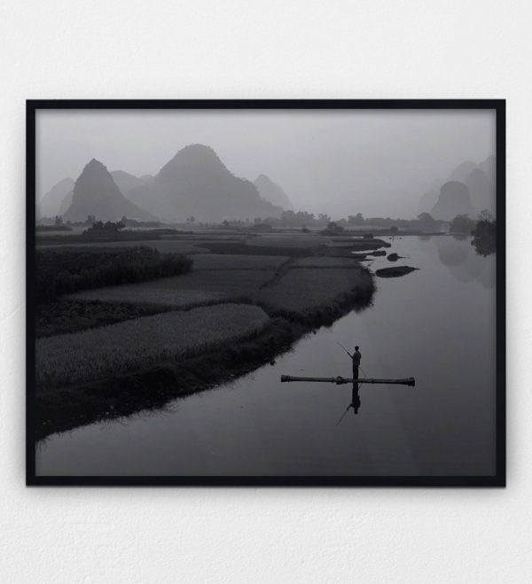 Bamboo Raft on Yu Long River Russel Wong