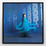 Hero Blue Maggie Cheung by Russel Wong