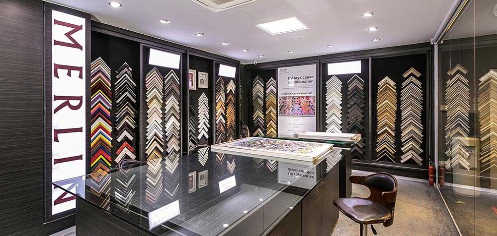 Merlin Frame Maker Singapore