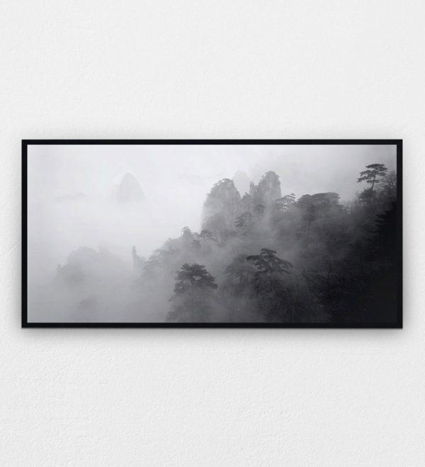 North Sea in Mist Huangshan