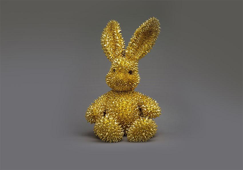 Golden Rabbit by Zhang Yong