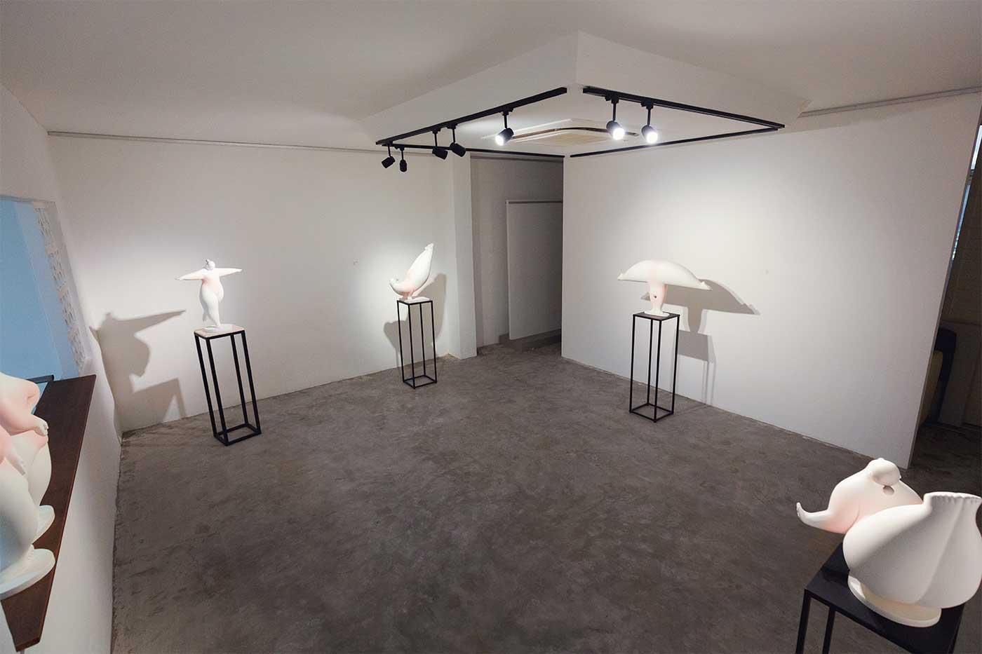 Internal Photo of Asian Art Platforms Gallery Space